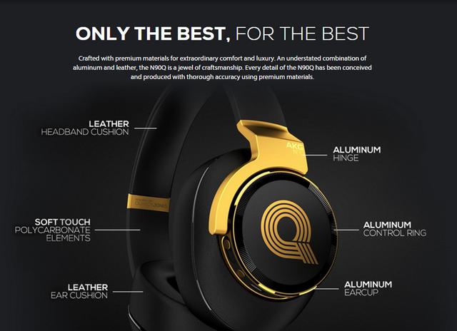 Az AKG N90Q Quincy Jones High-End fejhallgató a világ első igazán audiofil  minőségű fe7dfc0a40