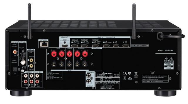 Pioneer VSX-831 4K Ready házimozi erősítő teszt