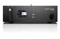 Elkészült a Gold Note DS-1000 hálózati lejátszó és DAC