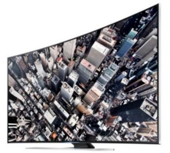 Samsung a kanyarban - UE65HU8500 ívelt UHD LCD TV