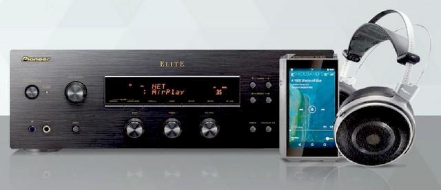 Pioneer SX-N30 Audiofil hang, fejlett képességek fekete