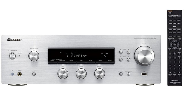 Pioneer SX-N30 Audiofil hang, fejlett képességek ezust