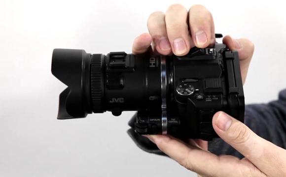 JVC GC-PX 100 videokamera – Egy tökéletes profi