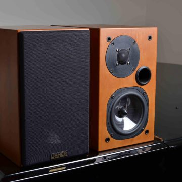Usher S 520 monitor hangfal – A kis nagymenő