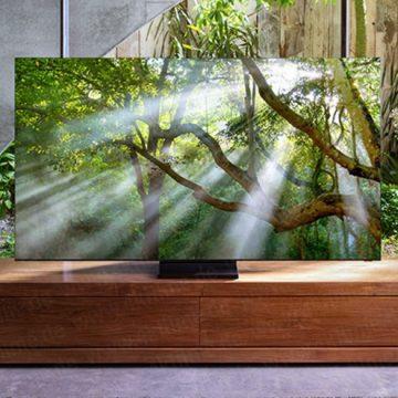 Kiszivárgott képen a SAMSUNG keret nélküli 8K tévéje