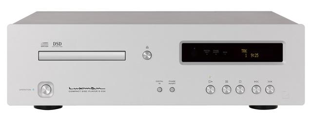 Vadonatúj MQA-CD lejátszót újított a LUXMAN