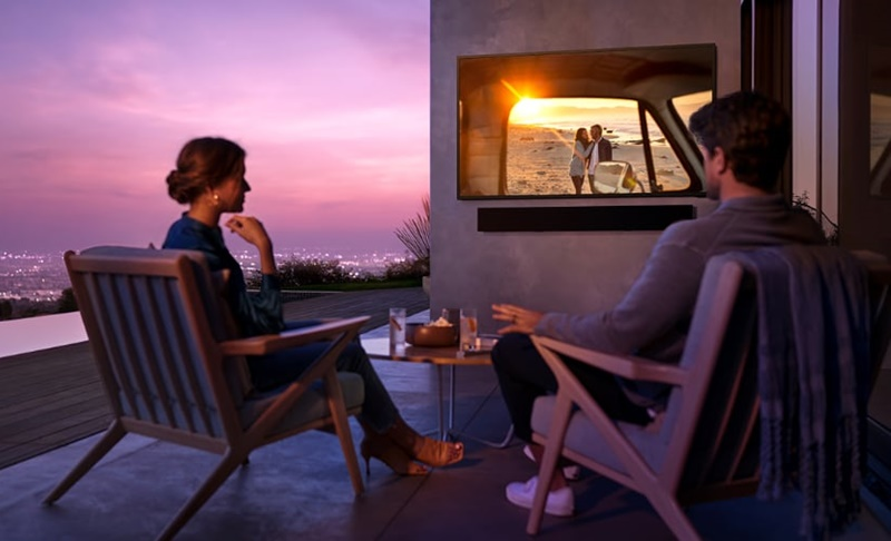 Samsung The Terrace – Mozi a szabadban