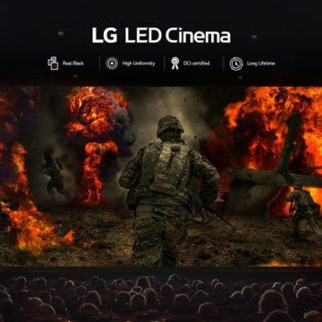Telepítette első LED mozis képernyőjét az LG