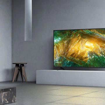 Boltokban a Sony XH80 és X70 4K HDR LCD televíziók