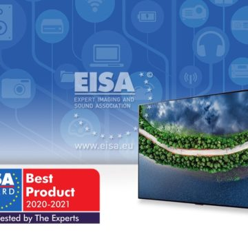 EISA Home Theatre Video Awards 2020-2021