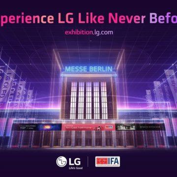 IFA 2020 – Megnyílt az LG virtuális kiállítása