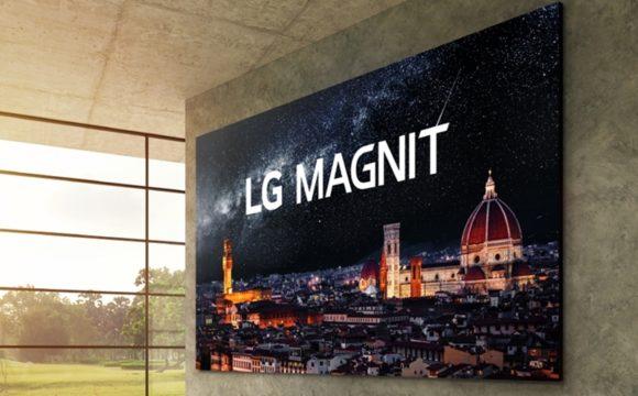 Úton van az LG moduláris microLED tévéje
