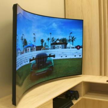 Egy mozdulattal hajlítható az LG játékos OLED kijelzője