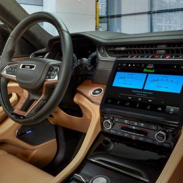 McIntosh rendszert kapott a Jeep Grand Cherokee L