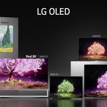 Áprilistól vihetők az LG legújabb prémium tévéi