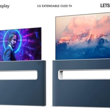 Visszahúzható OLED tévét szabadalmaztatott az LG