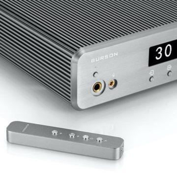 Kis helyen is elvan a Burson Audio integrált erősítője