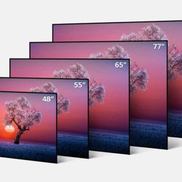Jönnek a nyolcvanhárom hüvelykes OLED tévék