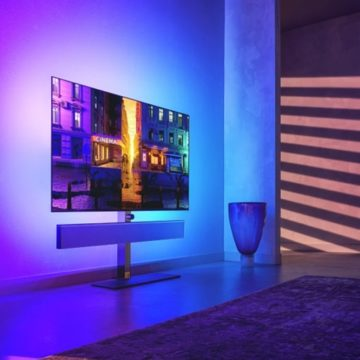 Új generációs panelt kapott a Philips OLED986 tévé