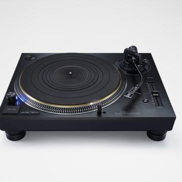 Feketébe öltözik a TECHNICS SL-1200G lemezjátszó